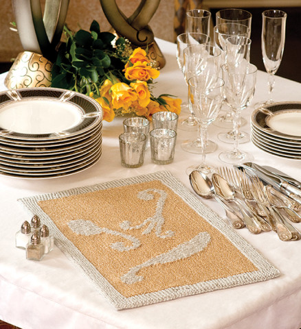 Gilded Age Placemats Pattern