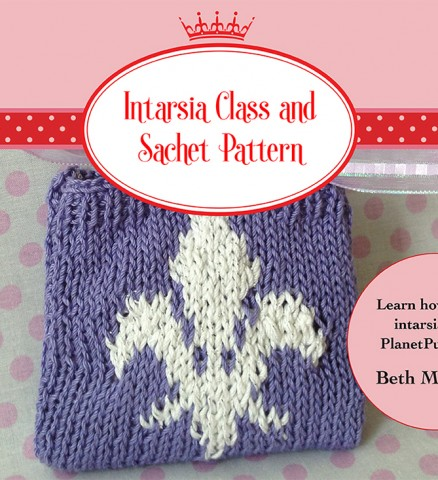 Intarsia Interactive Class and Sachet Pattern