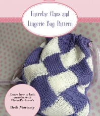 Entrelac Class and Lingerie Bag Pattern