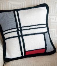 Mondrian Pillow Cover Pattern