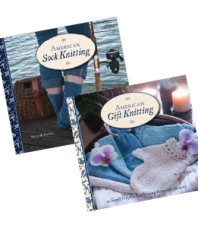 """American Gift Knitting""/""American Sock Knitting"" Bundle"